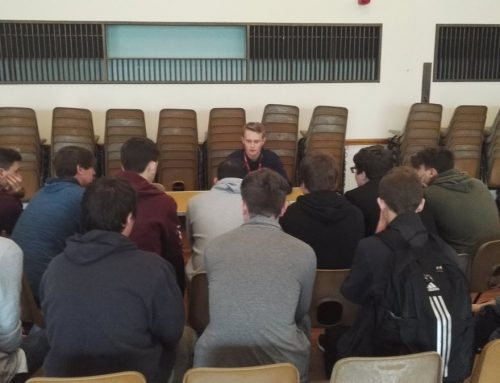 Stratton Upper School Students Inspired by Local Professionals