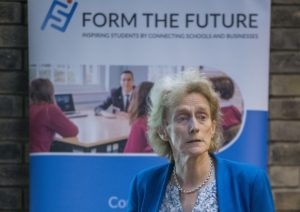 Prof Dame Athene Donald at Churchill College