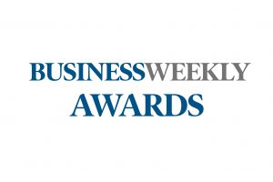 Logo for Business Weekly Awards 2018