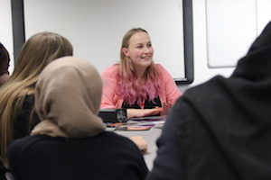 Female engineer speaks to Year 11 students about busting stereotypes in STEM careers