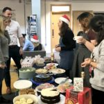 The Form the Future team selling their homemade treats