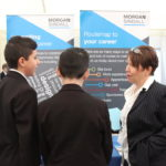 Exhibitors were from a range of STEM industries including construction and engineering