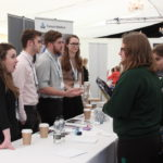 The students were able to meet STEM professionals at different stages of employment, including early career