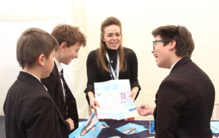 The students also learnt about the different pathways into the STEM industry, including alternatives to university
