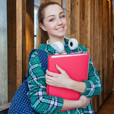 Image of female student - potential apprenticeship candidate